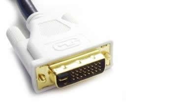 DVI cable male to male 6 Ft dual link digital (DVI-D)